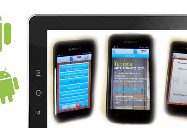 K6 App für PfadfinderInnen