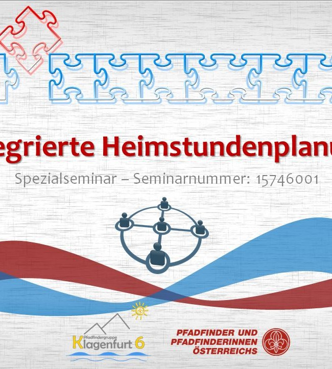 "Spezialseminar ""Integrierte Heimstundenplanung"""